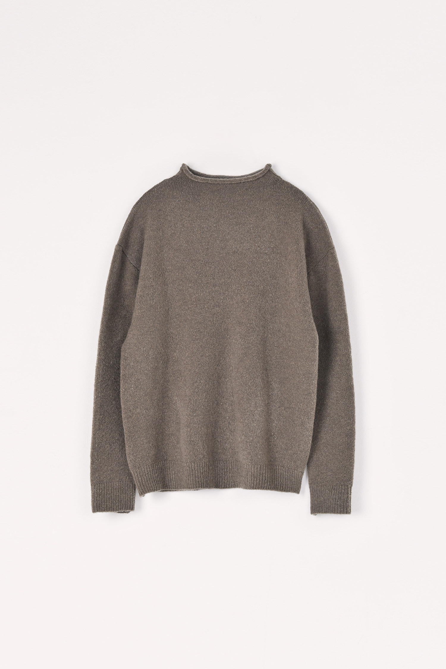 Yak simple knit (Taupe)