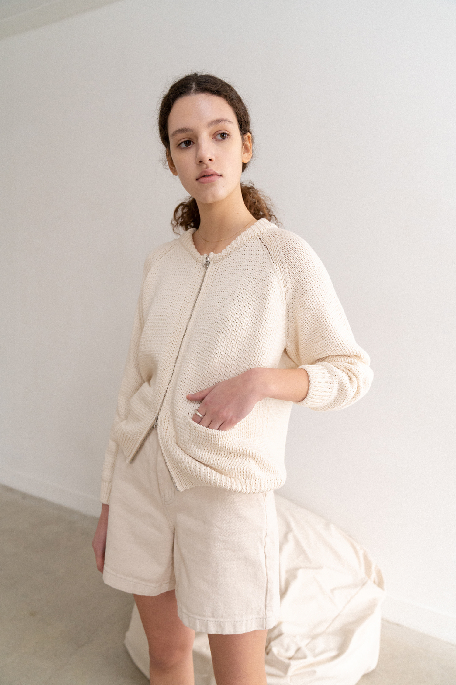 Cozy Knitted Jumper (Ivory)
