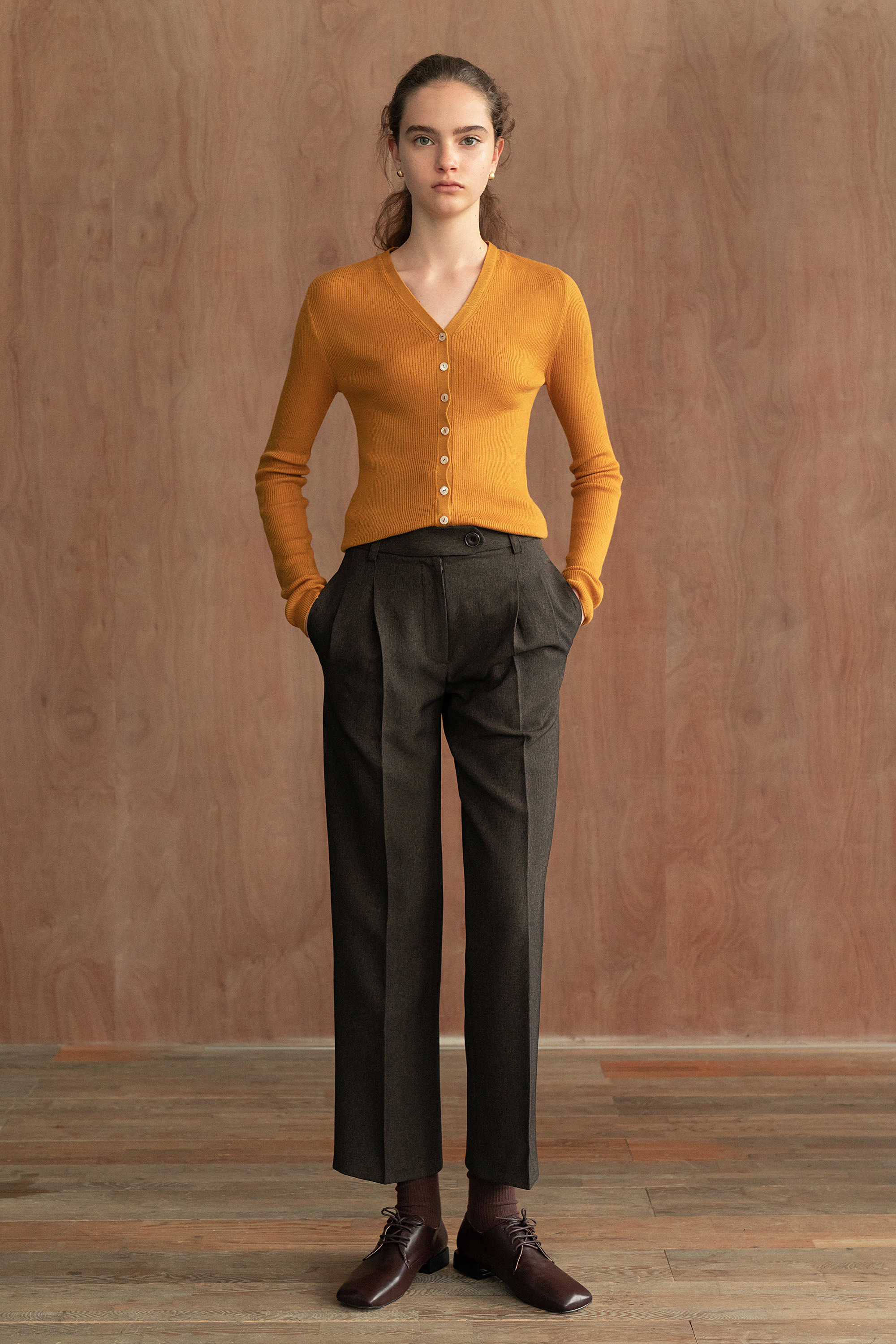 Signature slacks (Brown)