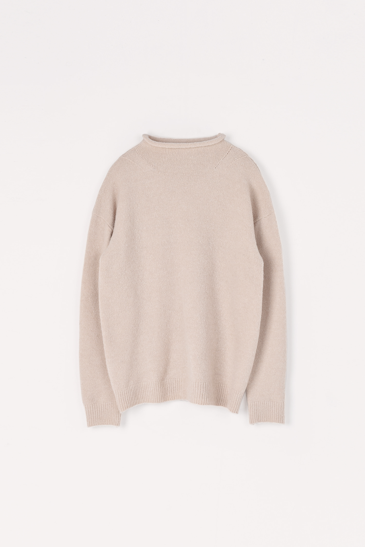 Yak simple knit (Antique white)