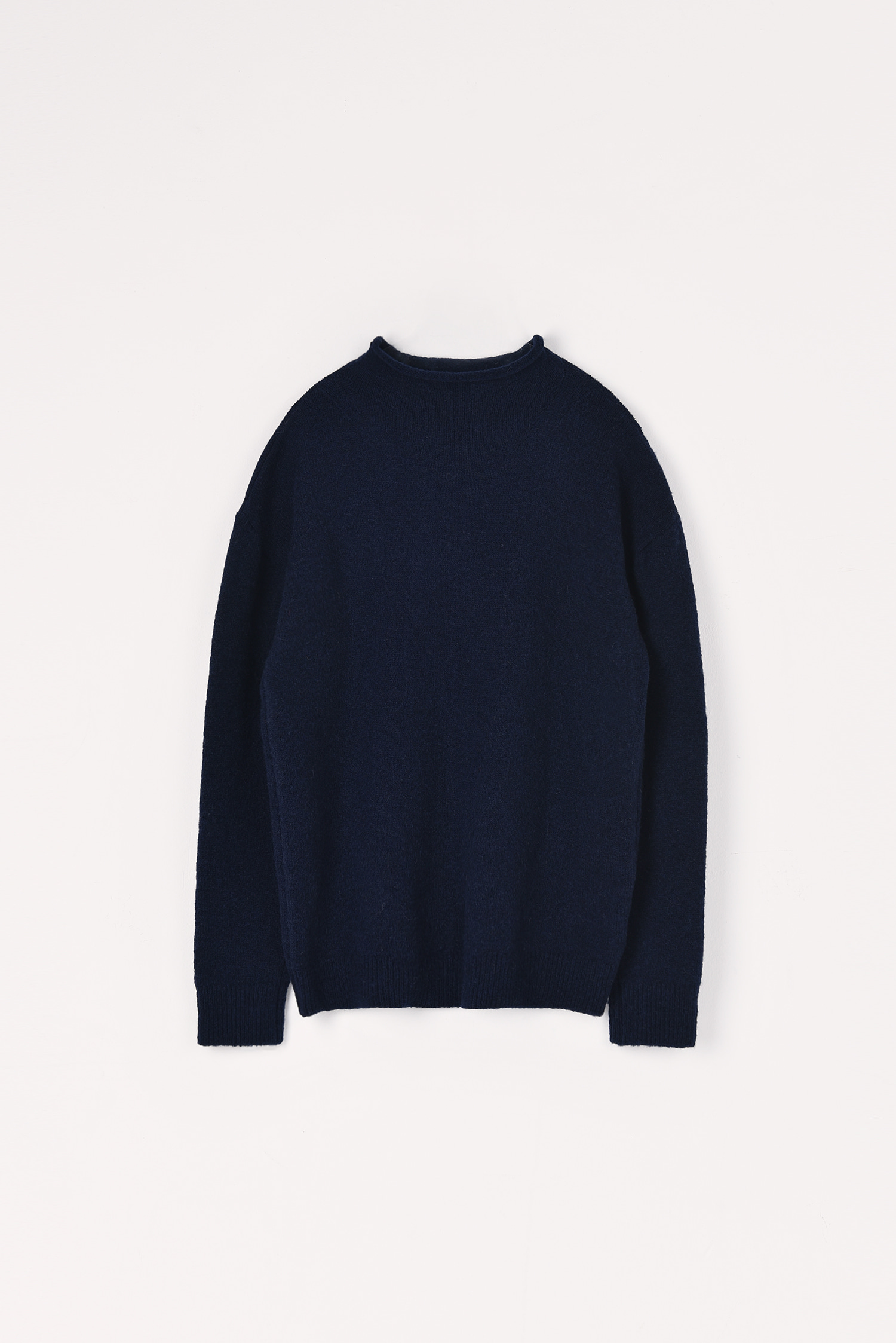 Yak simple knit (Dark navy)