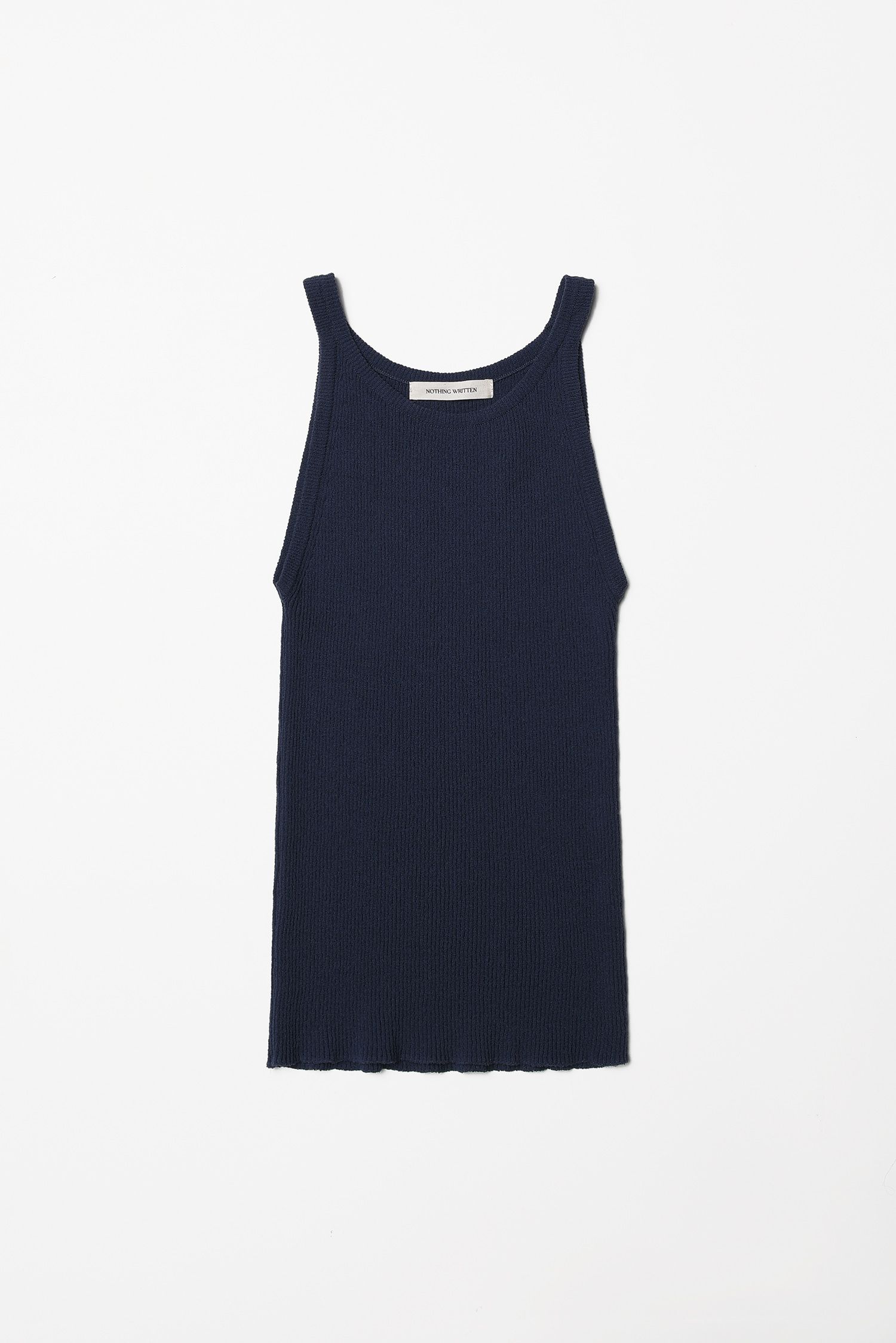Knit sleeveless (dark blue)