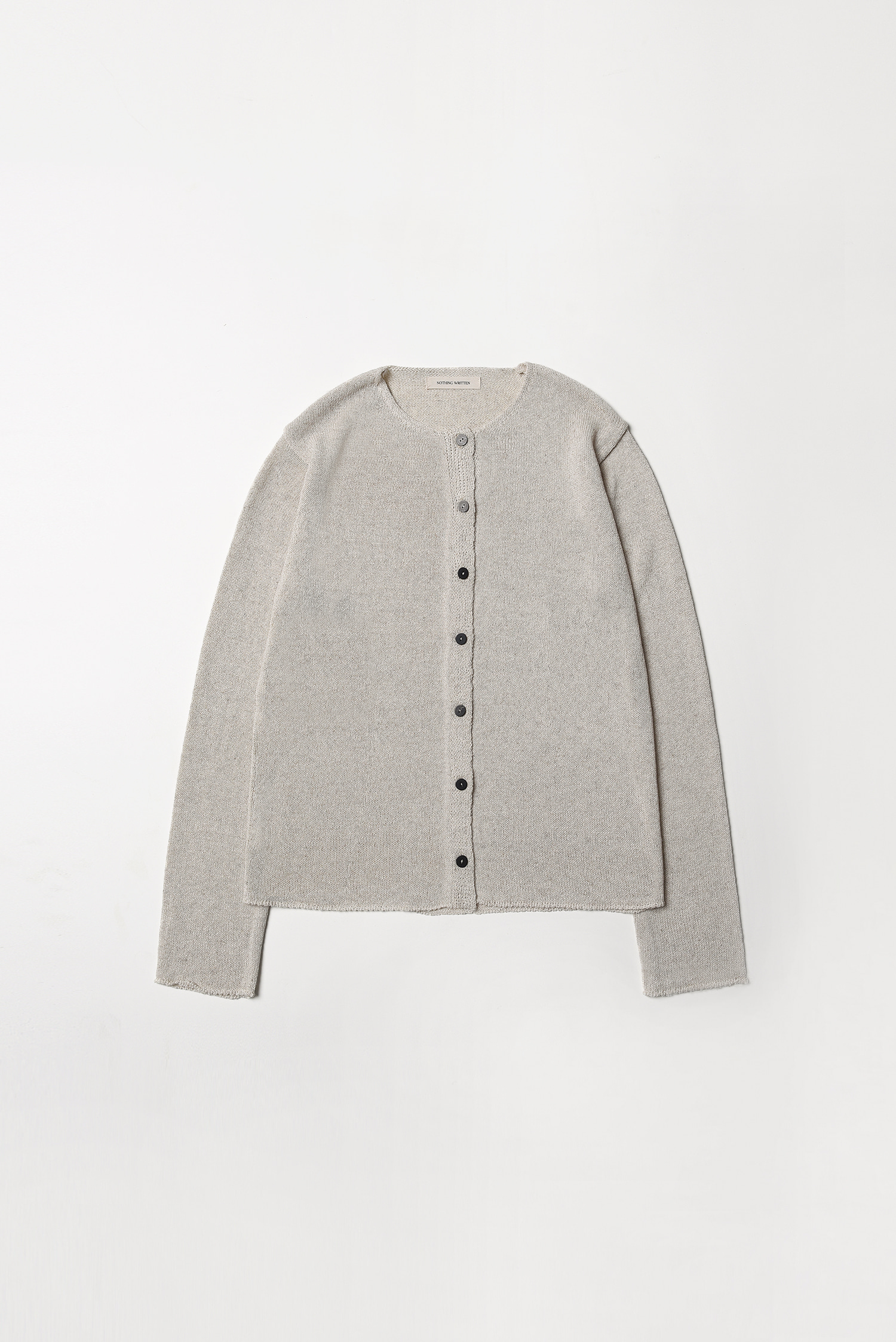 4RE-ORDER / Getty cardigan (oatmeal)