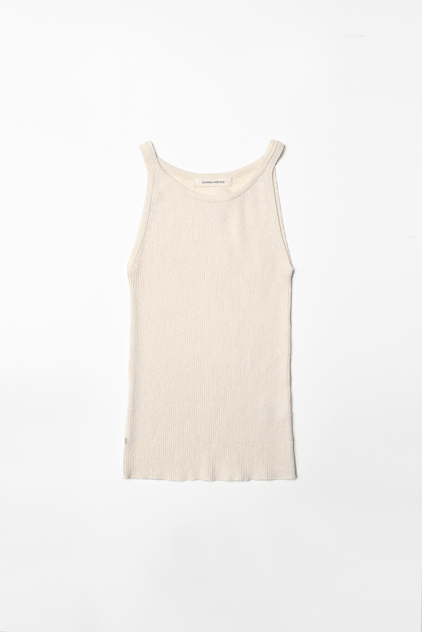 2RE-ORDER / Knit sleeveless (ivory)